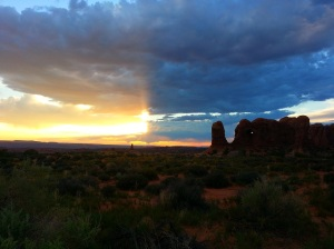 Sunset, Arches National Park, Moab