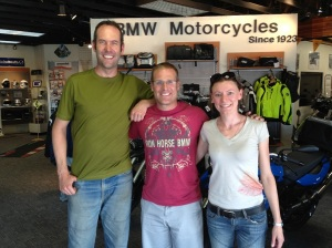 Lauren, Adrian and the owner of BMW Tucson