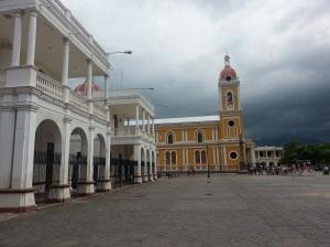 Town square in Granada
