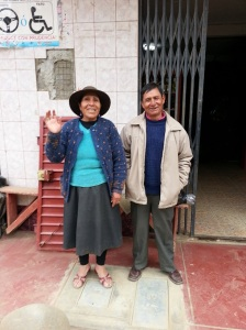 Older Peruvian couple
