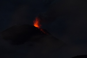 Tungurahua Volcano, Banos, Ecuador