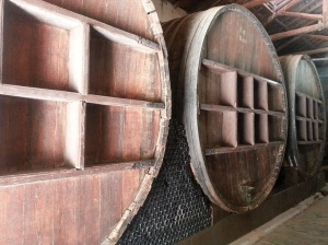 Old wine barrels (that are still in use!!)