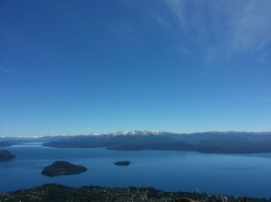 The view from the top of Cerro Otto, Bariloche