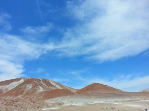 The colours kept changing from grey to red to orange to white to maroon and so on... it was just really spectacular.