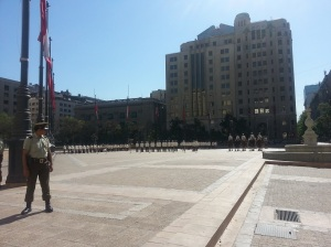 Military changing of the guard